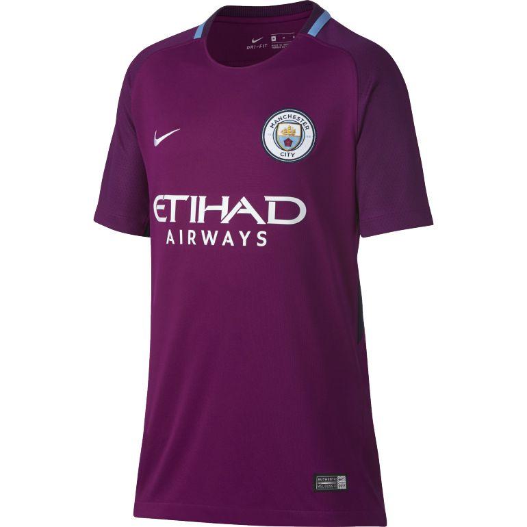 Maillot junior Manchester City extérieur 2017/18