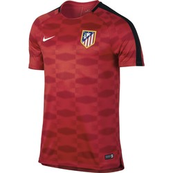 Maillot entraînement Atlético Madrid rouge noir 2017/18