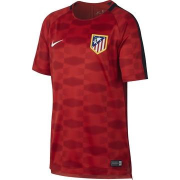Maillot entraînement junior Atlético Madrid rouge noir 2017/18