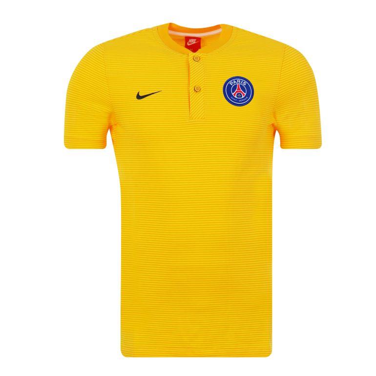Polo PSG authentique jaune 2017/18