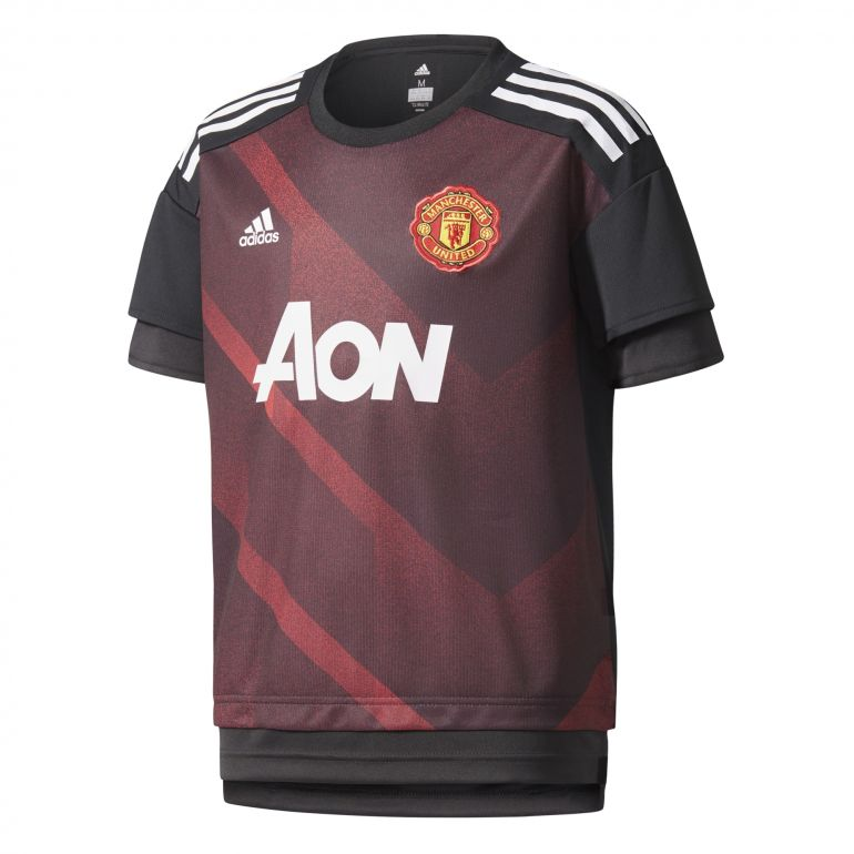 Maillot avant math junior Manchester United 2017/18