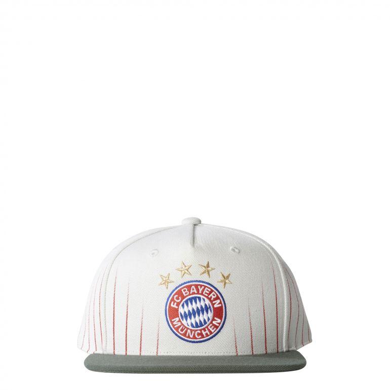 Casquette visière plate Bayern Munich gris 2017/18