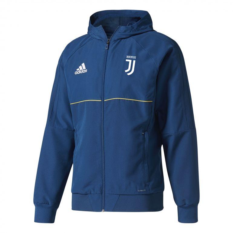 Veste survêtement Juventus bleu 2017/18