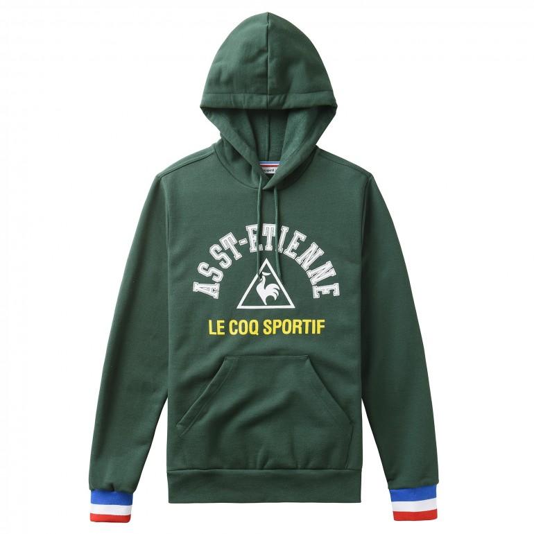 Sweat capuche ASSE vert