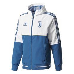 Veste survêtement Juventus blanc bleu 2017/18