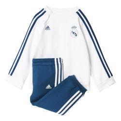 Ensemble survêtement enfant Real Madrid blanc 2017/18