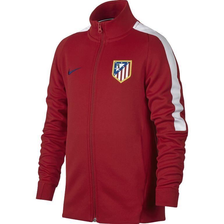 Veste survêtement junior Atlético Madrid rouge 2017/18