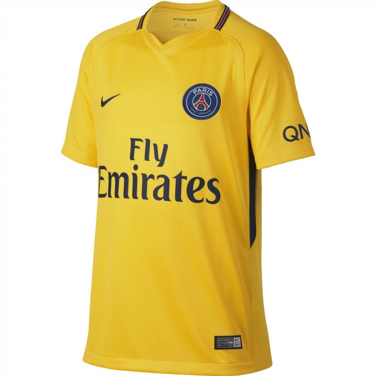 Maillot junior neymar psg ext rieur 2017 18 sur - Cadre maillot de foot ...