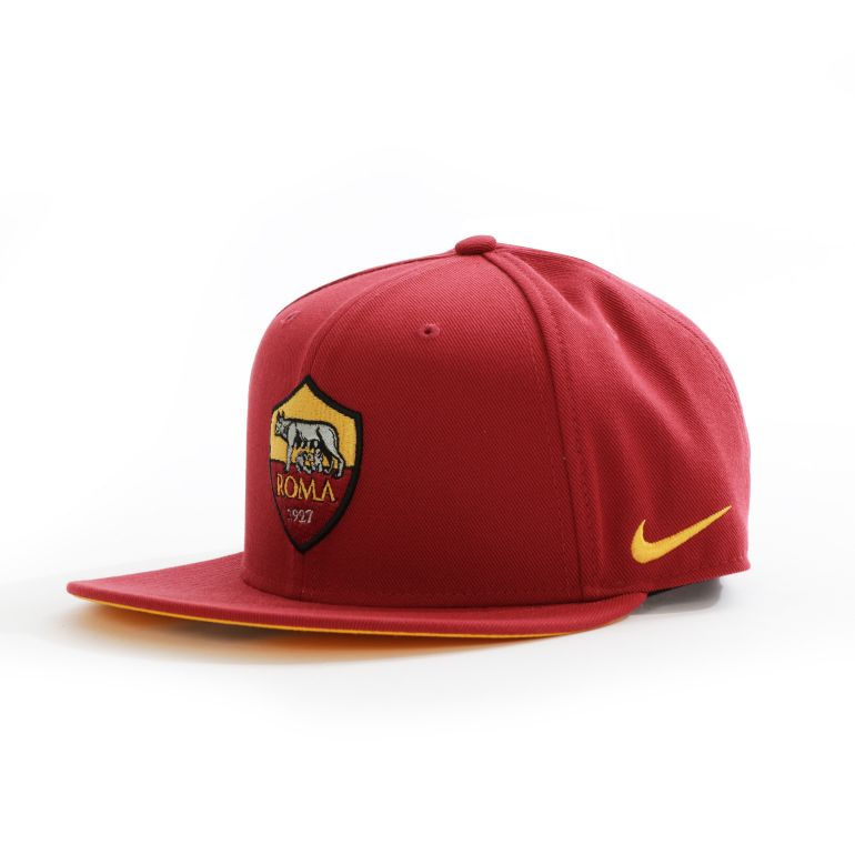 Casquette AS Roma Core rouge 2017/18