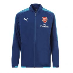 Veste survêtement junior Arsenal bleu 2017/18