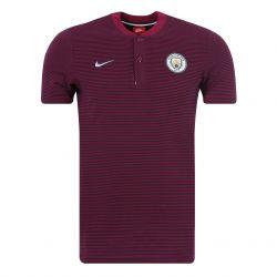 Polo Manchester City authentique rouge 2017/18