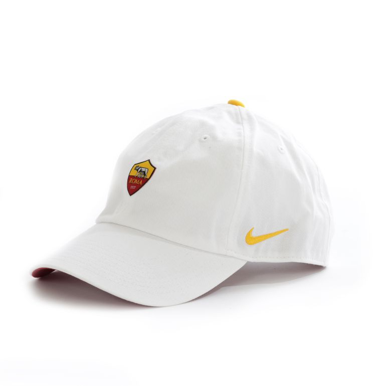 Casquette AS Roma Héritage86 blanc 2017/18
