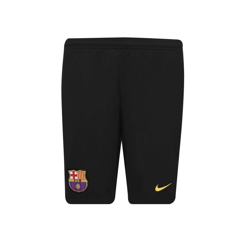 Short entraînement junior FC Barcelone noir 2017/18
