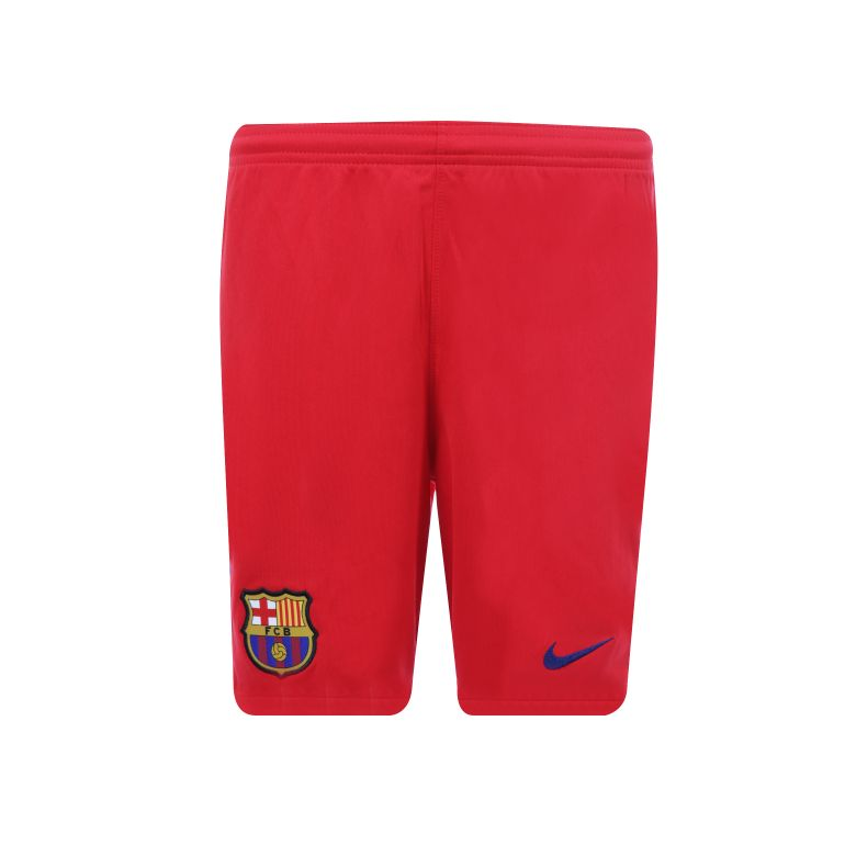 Short entraînement junior FC Barcelone rouge 2017/18