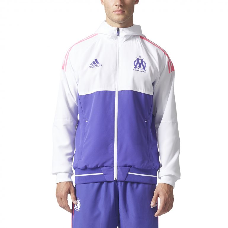 ensemble de foot Olympique de Marseille Vestes
