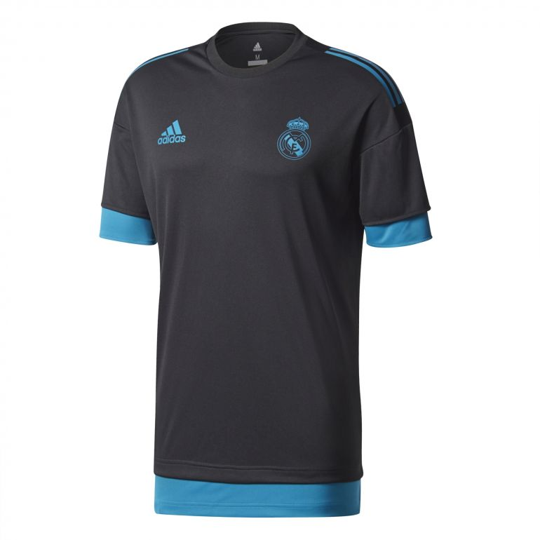 Maillot entrainement Real Madrid europe noir 2017/18