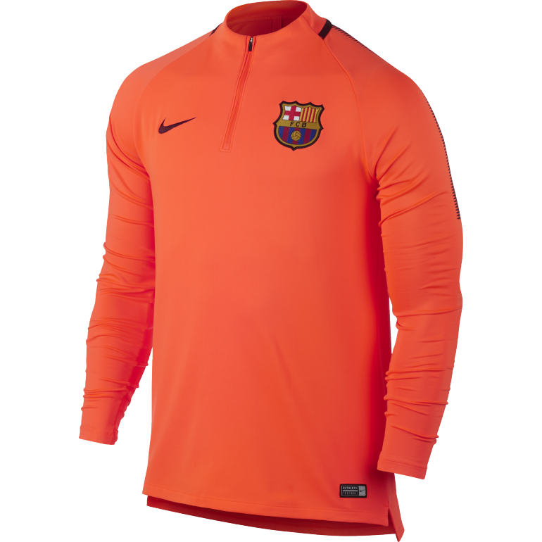 Sweati zippé FC Barcelone third 2017/18