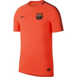 Maillot entraînement FC Barcelone third orange 2017/18