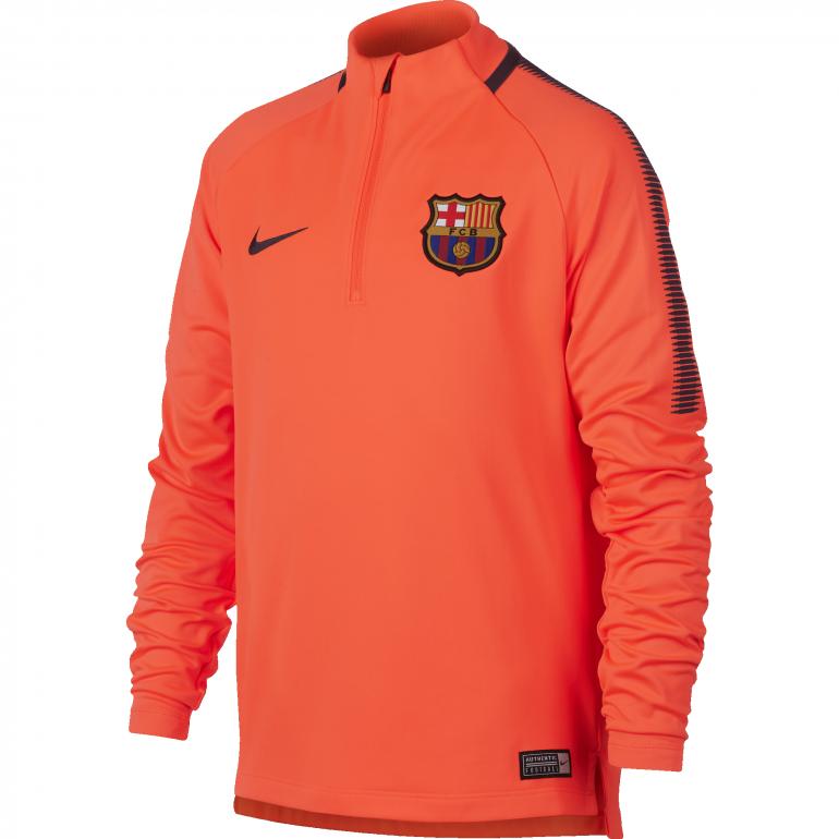 Sweat zippé junior FC Barcelone third 2017/18