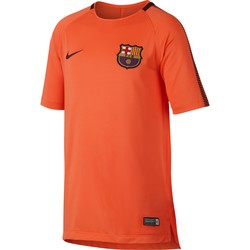 Maillot entraînement junior FC Barcelone third orange 2017/18