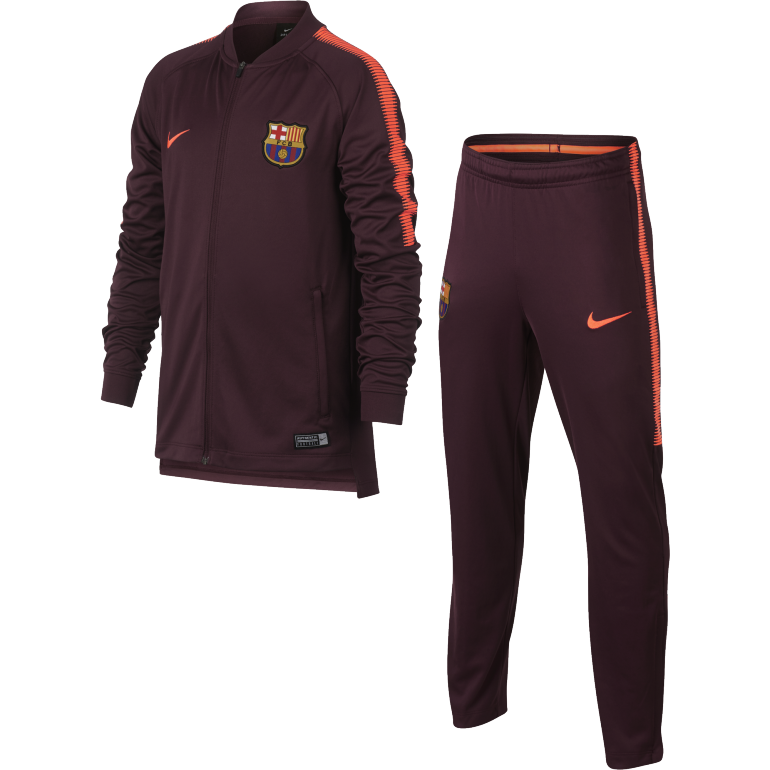 Ensemble survêtement junior FC Barcelone third 2017/18