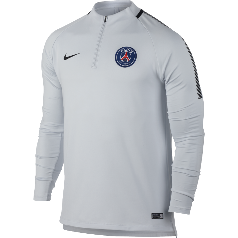 Sweat zippé PSG third 2017/18