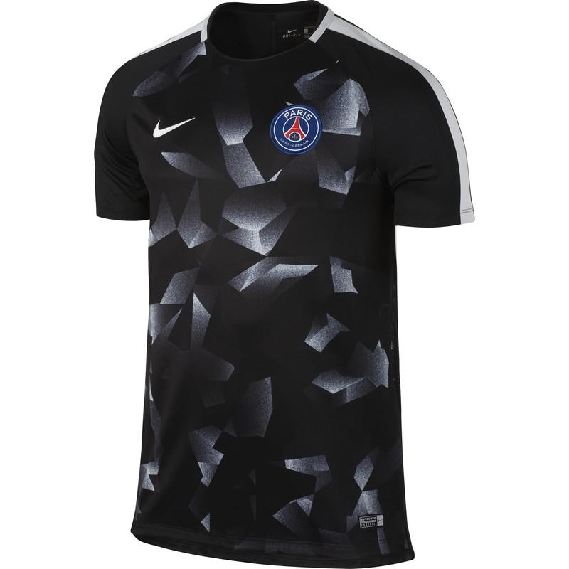 Maillot entraînement PSG third 2017/18 sur Foot.fr