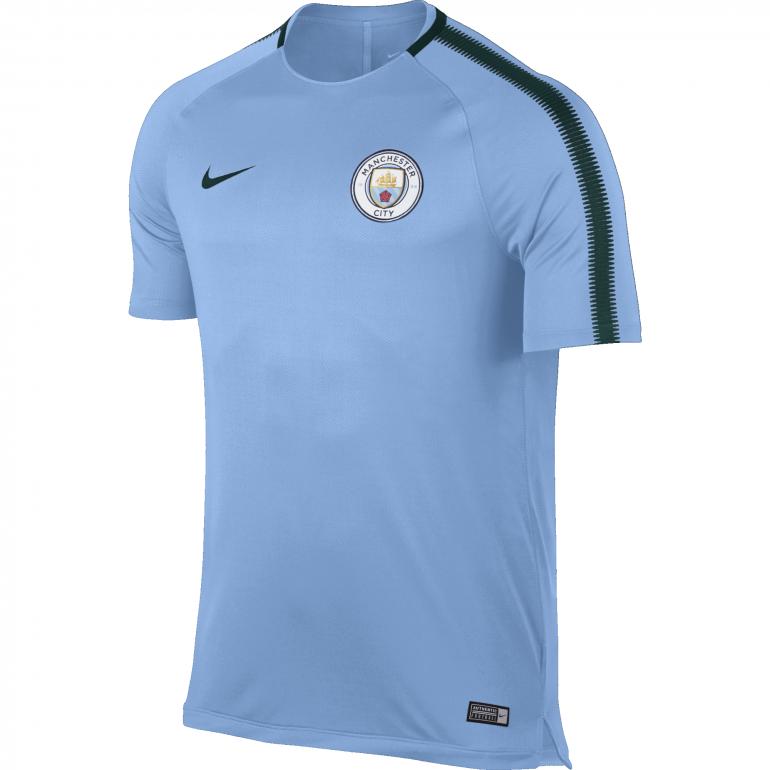 Maillot entraînement Manchester City third bleu 2017/18