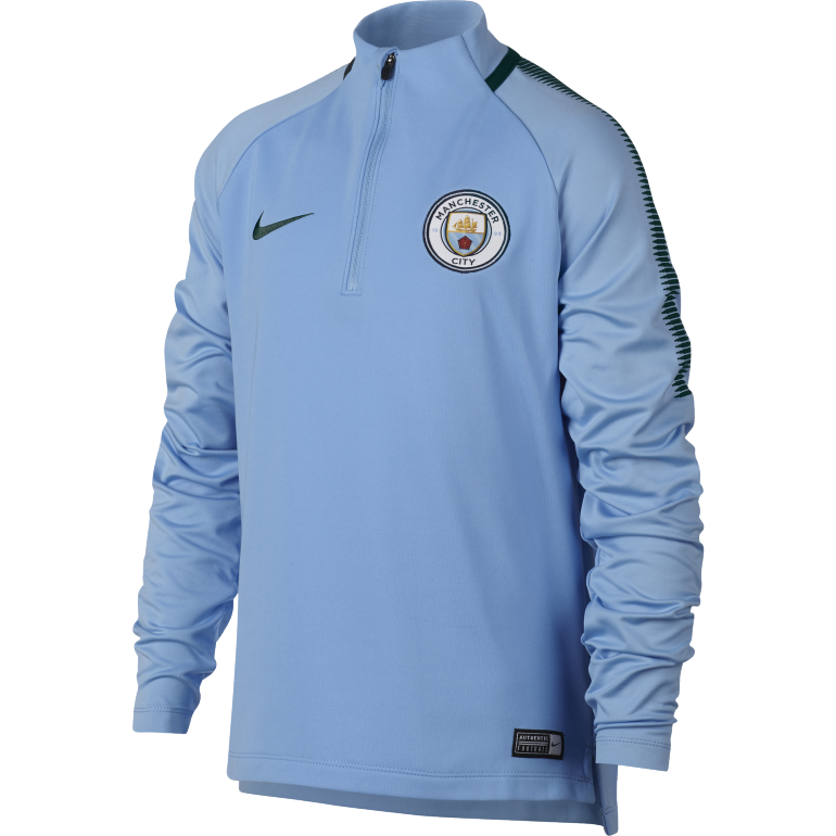 Sweat zippé junior Manchester City third 2017/18