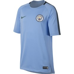 Maillot entraînement junior Manchester City third bleu 2017/18