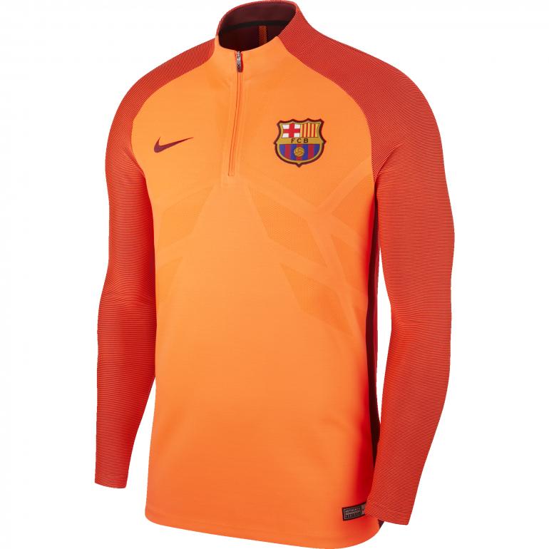 Sweat zippé FC Barcelone third strike 2017/18