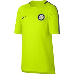 Maillot entraînement Junior Inter milan third jaune 2017/18