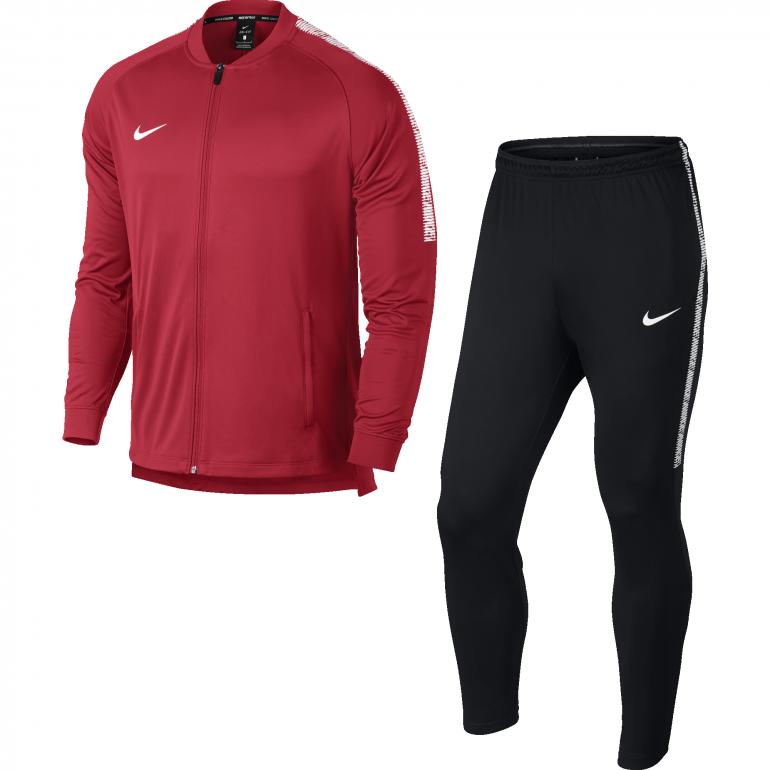 Ensemble survêtement Nike fit rouge 2017/18