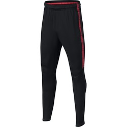 Pantalon survêtement junior Nike noir rouge 2017/18