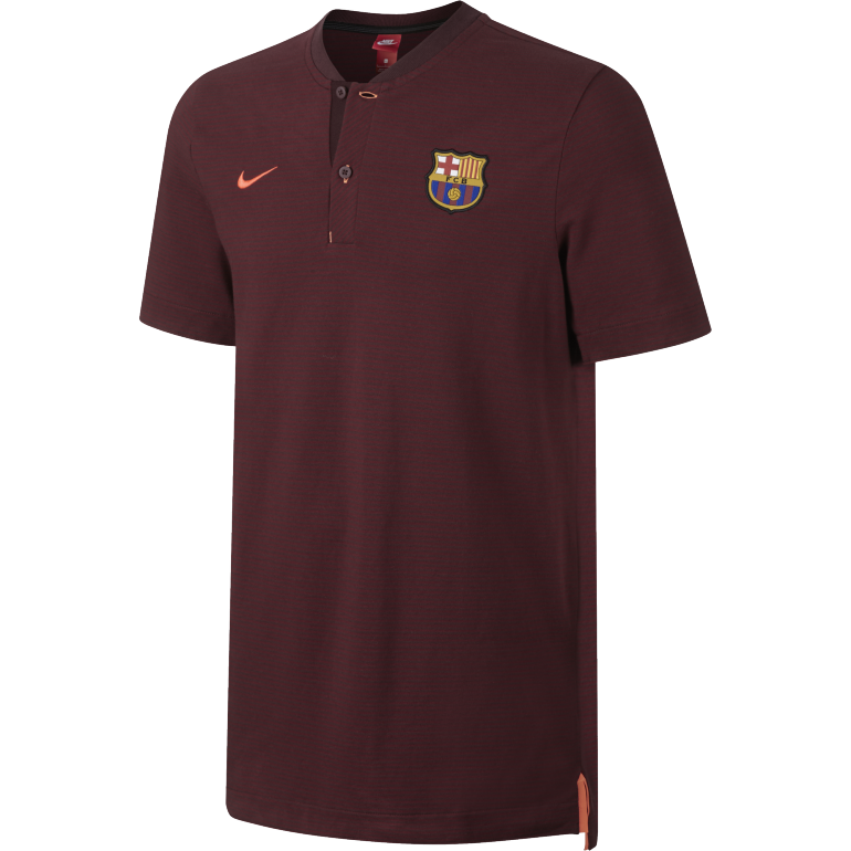 Polo FC Barcelone authentique third 2017/18