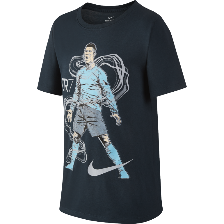 T-shirt junior CR7 bleu 2017