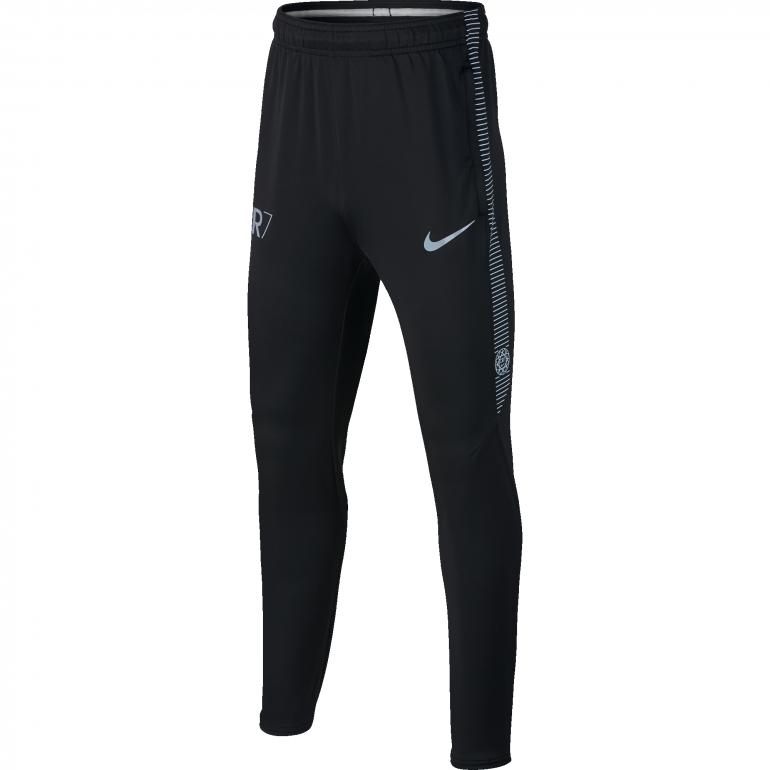 Pantalon survêtement junior CR7 noir gris 2017