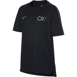 T-shirt junior CR7 squad noir 2017