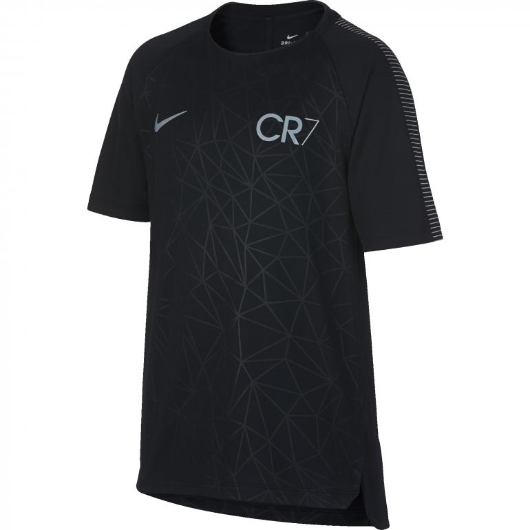 T-shirt junior CR7 squad noir 2017