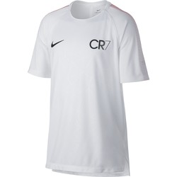 T-shirt junior CR7 squad blanc 2017
