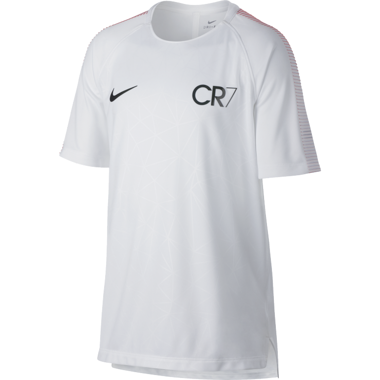 T-shirt junior CR7 squad blanc 2017