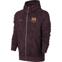 Veste survêtement FC Barcelone third molleton 2017/18