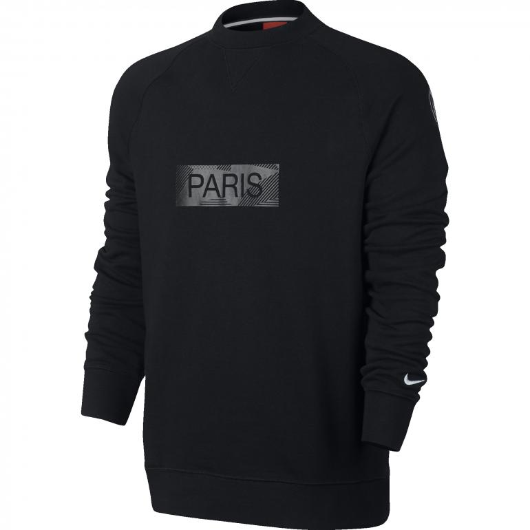 Sweat PSG third noir 2017/18