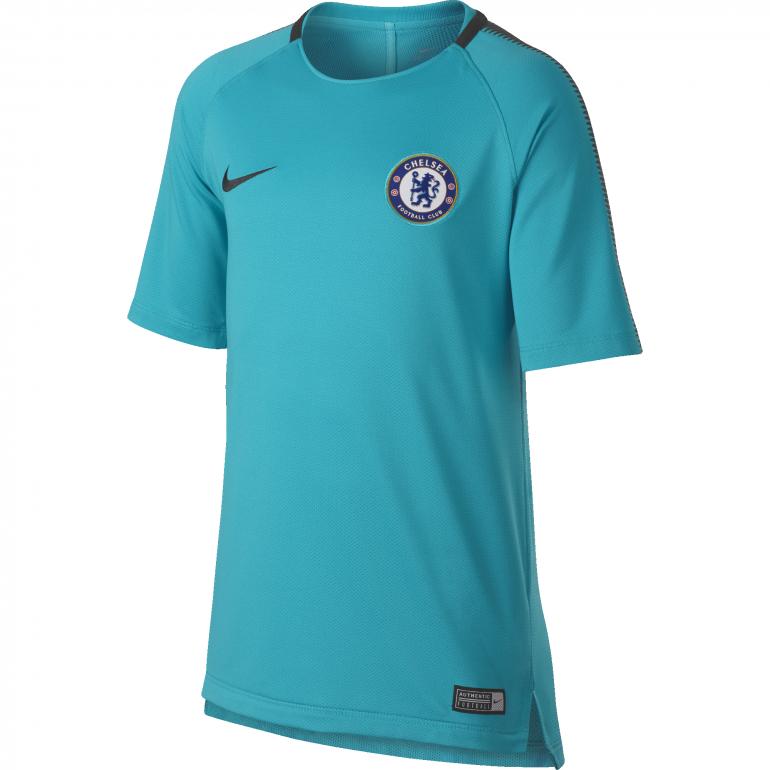 Maillot entraînement junior Chelsea third bleu 2017/18
