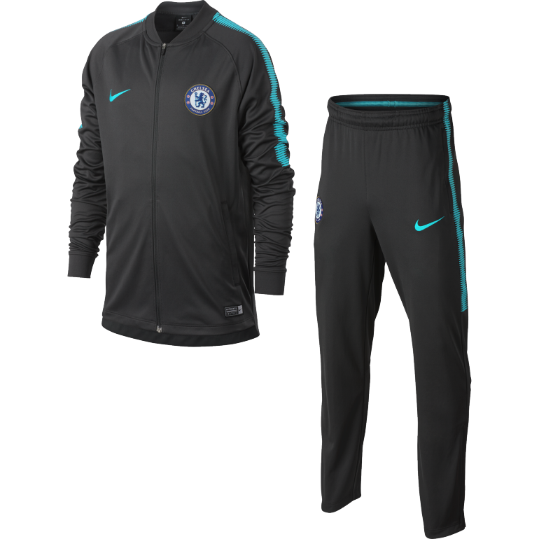 Ensemble survêtement junior Chelsea third 2017/18