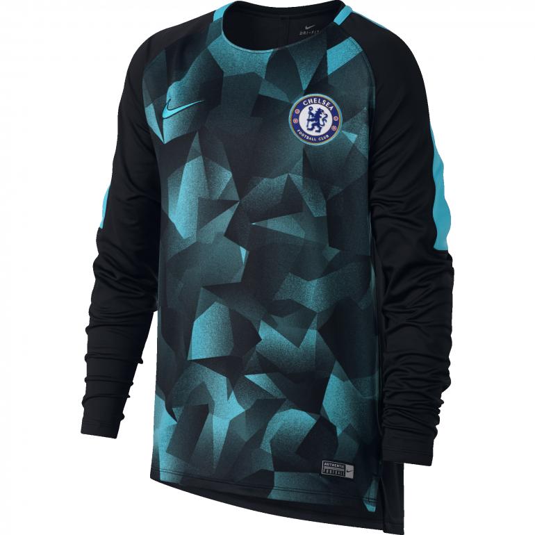 Sweat entraînement junior Chelsea third 2017/18