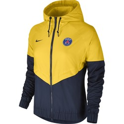 Coupe vent Femme PSG jaune 2017/18
