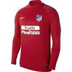 Sweat zippé Atlético Madrid rouge 2017/18