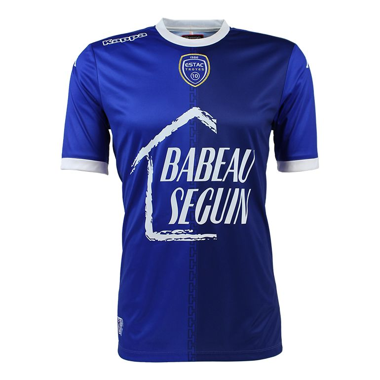 Maillot Troyes domicile 2017/18