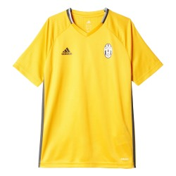 Maillot entraînement Juventus junior jaune 2016 - 2017